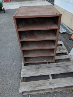 Large stand alone or hanging metal cabinet
