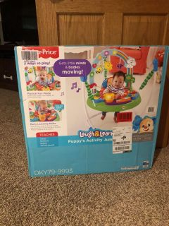 Laugh and Learn Puppy s Activity Jumper