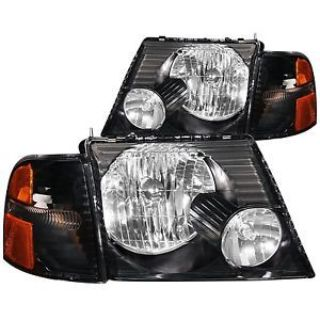 Buy Anzo USA 111071 Crystal Headlight Set Fits 02-05 Explorer * NEW * motorcycle in Pittston, Pennsylvania, United States, for US $201.98