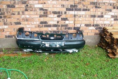 Fox Body Mustang Grill and Ground Effects off 1993 Ford Mustang
