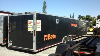 2014 Husky 8.5x52' enclosed car trailer