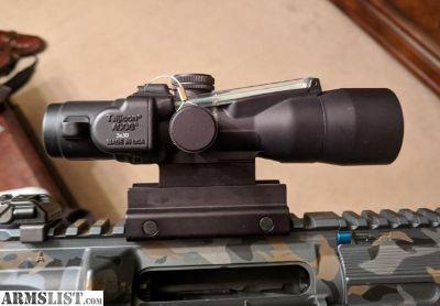 For Sale: ACOG TA33 3x30 300blk Green Ballistic Crosshair Reticle