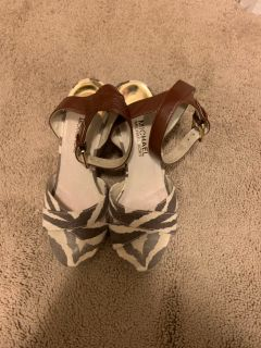 Michael Kors wedge sandal size 6.5