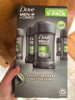 Brand new 5 pack of men s dove deodorant! Brand new in package