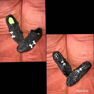 Men s Underarmor Nitro football cleats, NEW condition! Worn only few times, size 91/2