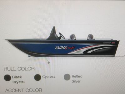 2019 Alumacraft COMP 165 CS Aluminum Fish Boats Boats Hutchinson, MN