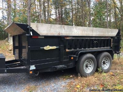 Griffin 12ft dump trailer
