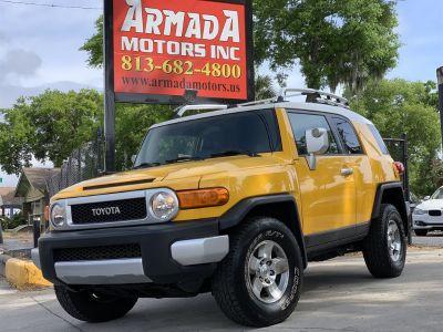 2008 Toyota FJ Cruiser Base (Yellow)