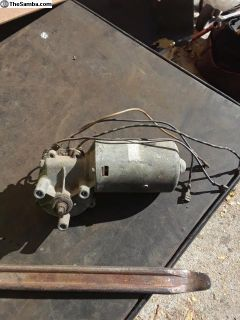 Wiper motor 68 and up