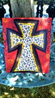 Hand  painted home decor hangers