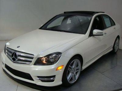 2013 Mercedes-Benz C-Class C300 Sport 4MATIC (Polar White)