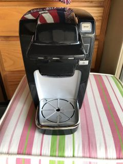 Single serving Keurig.