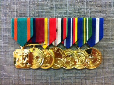 Get your Medals Mounted fast and Professionally!