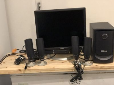 19 in monitor and surround sound