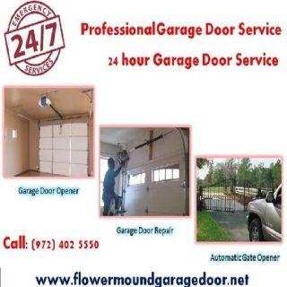 Emergency Garage Door repair in 1 Hour $25.95 | Flower Mound 75022