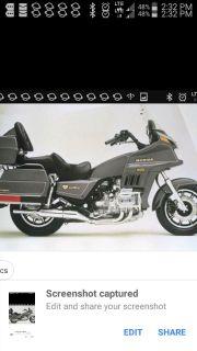 1987 Honda GOLD WING 1200 ASPENCADE
