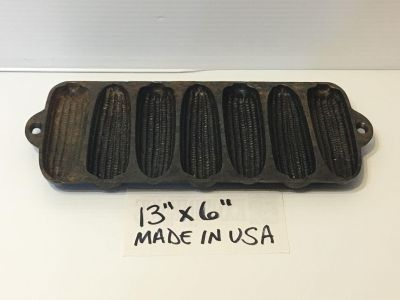 Cast iron corn cob cornbread muffin pan made in USA Pickup Marquette Hts only Unable to meet