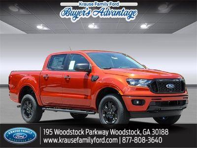 2019 Ford Ranger XLT (Chili Pepper Red)
