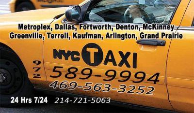 Taxis en espanol conroe tx 972 589 9994 , aeropuertos