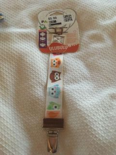 New baby pacifier strap