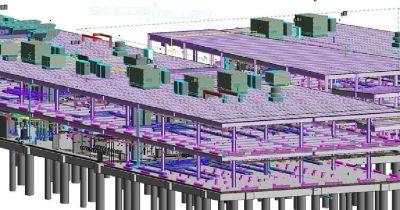 Building Information Modeling Services at Florida - Point Cloud, BIM Clash Detection