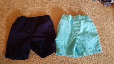 18 month shorts $1