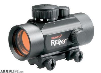 For Sale: Tasco 1x30mm 5 MOA Red Dot Sight