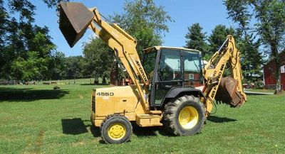 $3,000, for sale Ford 455 Diesel Loader Backhoe 4wd