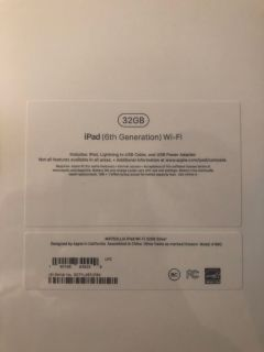 iPad 6 32gb BRAND NEW
