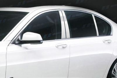 Find SES Trims TI-P-292 09-11 BMW 7-Series Door Pillar Posts Window Covers Trim 6 Pcs motorcycle in Bowie, Maryland, US, for US $70.20
