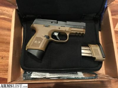 For Sale: FN FNS-9C FDE/BLK