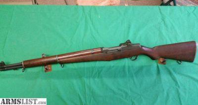 For Sale: Garand M1 30-06 Springfield