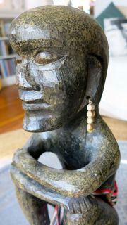 African Wood Sculptures by the Hemba people