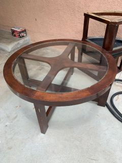Coffee Table & Stools