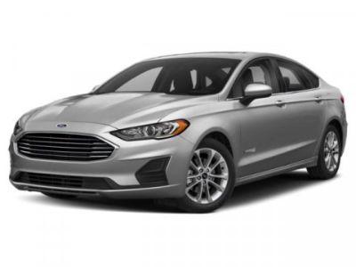 2019 Ford Fusion Hybrid SE (White)
