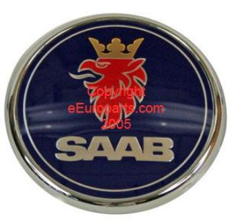 Purchase NEW Genuine SAAB Emblem - Trunk 12844160 motorcycle in Windsor, Connecticut, US, for US $31.32