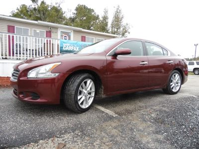 2011 Nissan Maxima 3.5 S (Red)