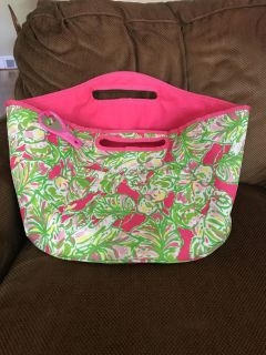Lily Pulitzer Insulated Tote LIKE NEW