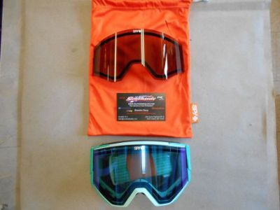 Buy Spy Ace Snowmobile Goggle Elemental Mint BLUECONTRAST+BRONZE 310071162395 motorcycle in North Adams, Massachusetts, United States, for US $89.95