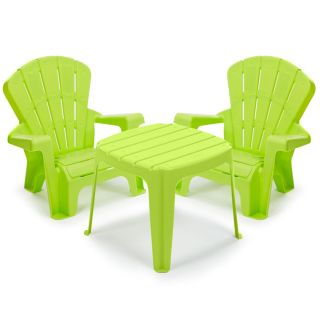 NEW Little Tikes Garden Table & Chairs - Green