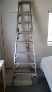 aluminum 8ft ladder