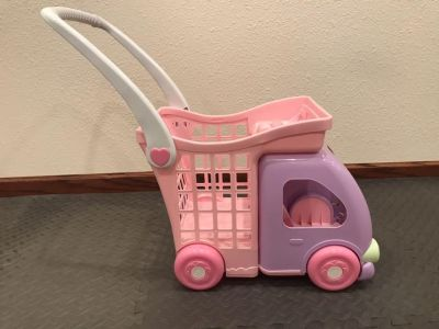Fisher-Price Grocery Cart/Doll Stroller