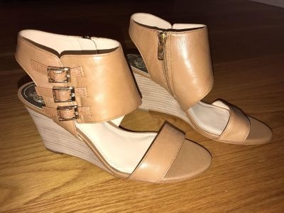Vince Camuto Leather Wedge