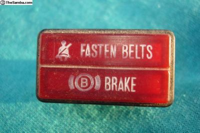 Seat Belt & Brake Light