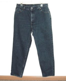 Vitg 90's Levis 550 Relaxed Tapered High Rise Waist Mom Jeans 12 Measures 32x29