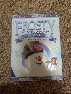 Frosty the Snowman with book