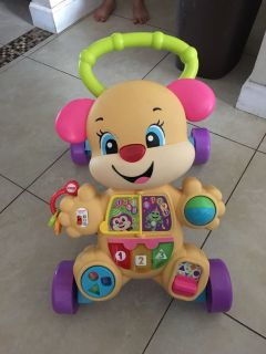 Fisher Price Sit to stand/Walk and play interactive dog
