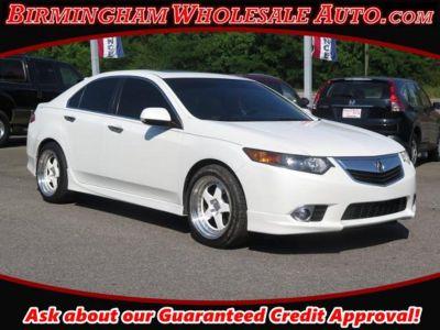 2012 Acura TSX Base w/Special (WHITE)