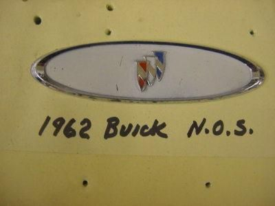 Buy Buick 1962 NOS Interior ? Emblem motorcycle in Girard, Ohio, US, for US $27.00