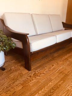 Sculptural Vintage MCM Sofa